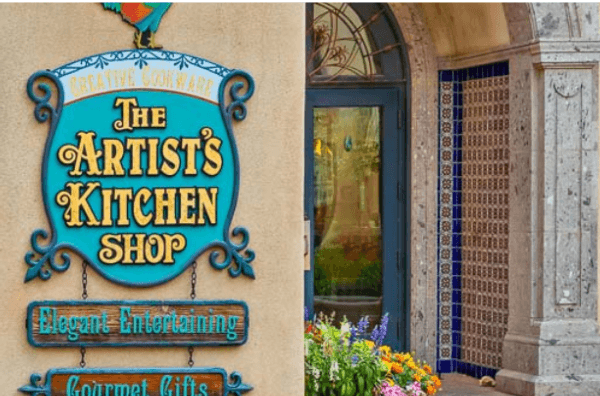 The Artist's Kitchen Shop